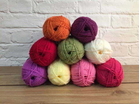 Stylecraft Special Aran Flower Garden Colour Pack