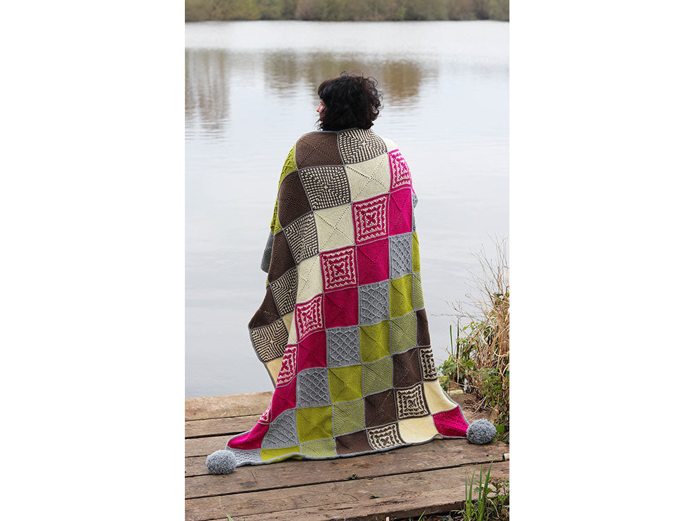 Bolderwood Blanket Crochet Kit and Pattern in West Yorkshire Spinners Yarn
