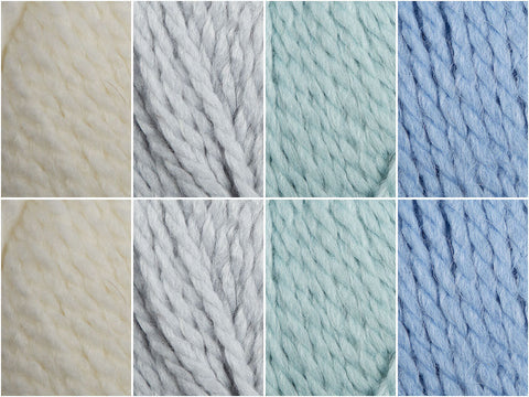 Icicles Colour Pack in King Cole Timeless Chunky