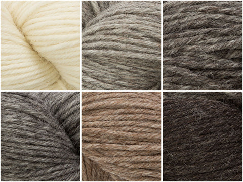 West Yorkshire Spinners Illustrious DK Naturals Colour Pack