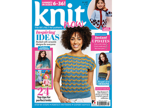 Knit Now Magazine - Issue 105