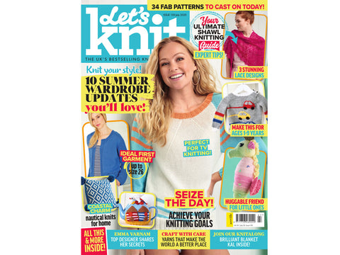 Let's Knit Magazine - Issue 159