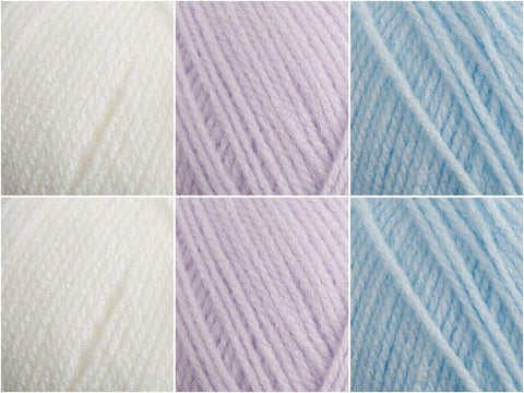 James C. Brett Baby DK Pastel Colour Pack