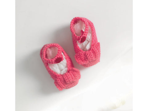 Shoes by Jenny Watson in Deramores Studio Baby DK (5085)