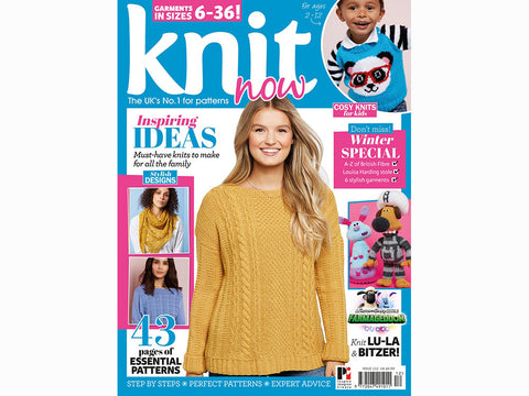 Knit Now Magazine - Issue 112