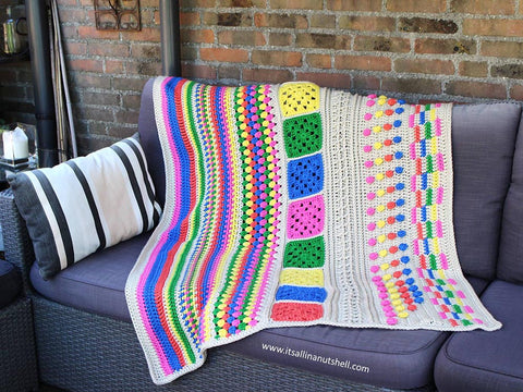 TLC Blanket Colour Pack by It's All In A Nutshell in Scheepjes Yarn