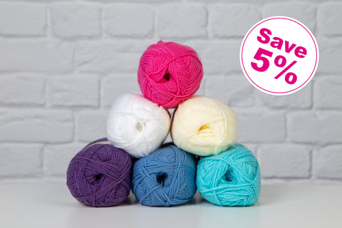 Your Crochet and Knitting - Sirdar Colour Pack 1