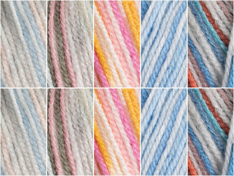 King Cole Candystripe DK - Bubblegum Fizz Colour Pack