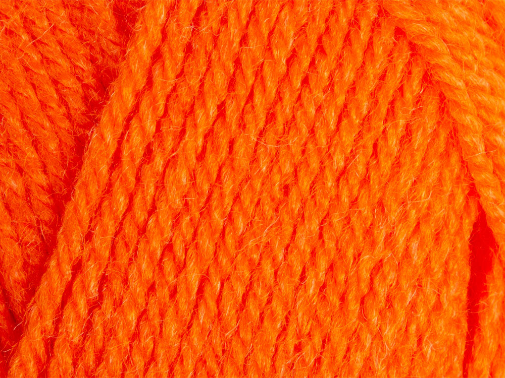 4028 ORANGE King Cole BIG VALUE DK Double Knitting Wool Yarn 50g
