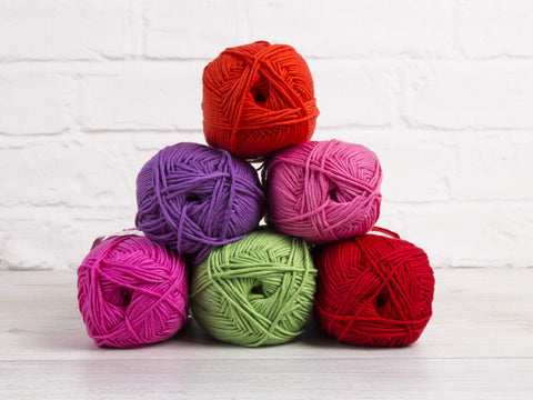 King Cole Bamboo Cotton DK Bright Colour Pack