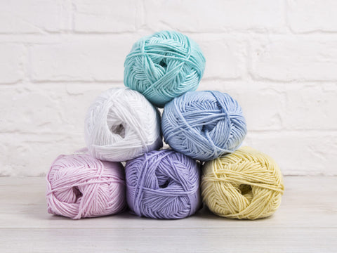 King Cole Bamboo Cotton DK Fresh Pastels Colour Pack