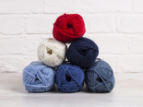 King Cole Merino Blend DK Nautical Colour Pack