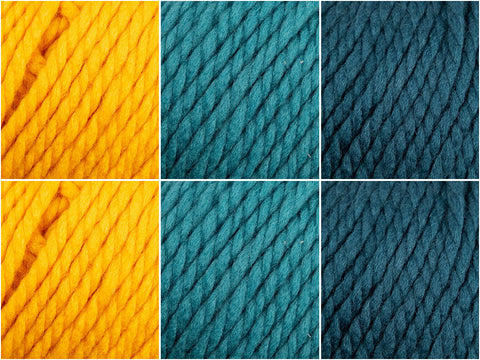 Rowan Big Wool Kingfisher Colour Pack