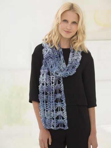 Lion Brand® Shawl In A Ball Anabelle Glitter Shawl (Crochet) (L60197)