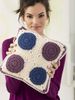 Lion Brand® Vanna's Choice® Crochet Motif Pillow (L60341)