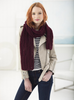 Crowley Lace Scarf in Lion Brand Vanna's Choice (L70096)