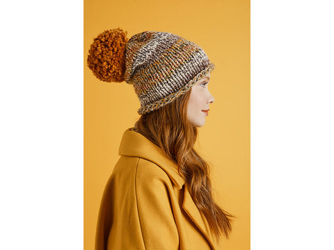 Simple Hat in Lion Brand Wool-Ease Thick & Quick (L70300)