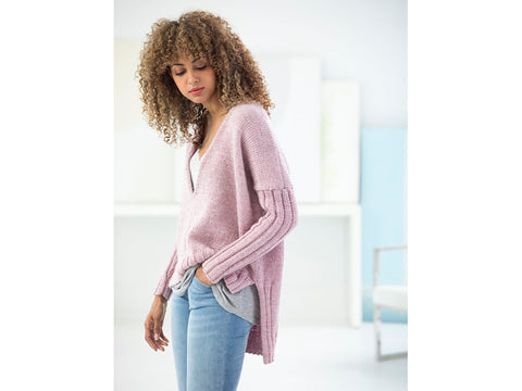 Cedar Hill Pullover in Lion Brand Touch of Alpaca (L70311)