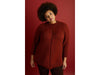Exaggerated Raglan Pullover in Lion Brand Wool-Ease Thick & Quick (L70365)