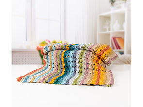 Oolong & Lapsang Afternoon Tea Blanket Crochet Kit and Pattern