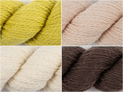 Lemon Pie Colour Pack in Rowan Island Blend