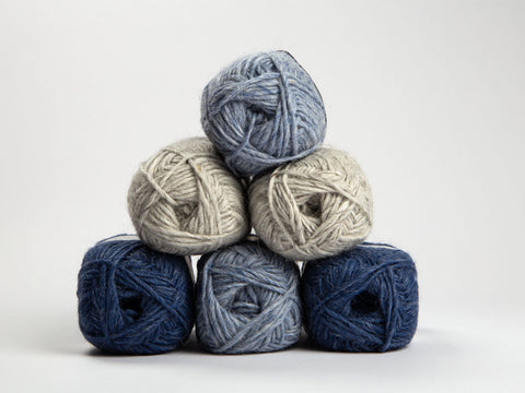 Denim Heathers Colour Pack in Lopi Alafosslopi