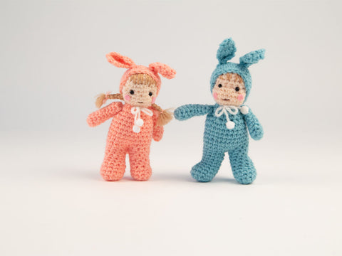 Easter Kids Crochet Kit and Pattern in Sirdar Yarn
