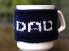 No.1 Dad Mug Cosy Knitting Kit and Pattern in Deramores Yarn