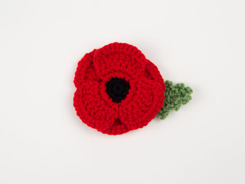 Crochet Poppy Digital Pattern