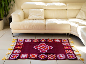 Moroccan Tiles Rug Crochet-Along Kit in Deramores Studio DK