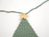 Christmas Tree Bunting Crochet Kit and Pattern in Deramores Yarn