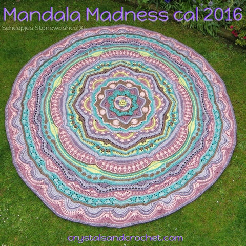Mandala Madness Big Earth Momma Colour Pack