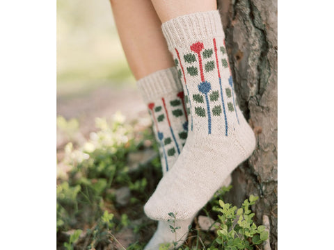 Marja Socks in Novita Nalle and Nordic Wool