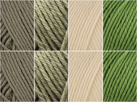 Matcha Colour Pack in Rowan Pure Wool