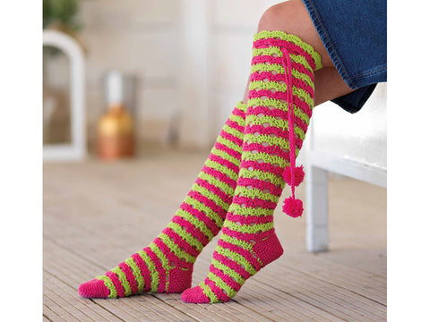 Melmerby Socks Crochet Kit and Pattern in West Yorkshire Spinners Yarn