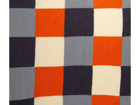 Mitred Square Blanket by Fran Morgan in West Yorkshire Spinners ColourLab