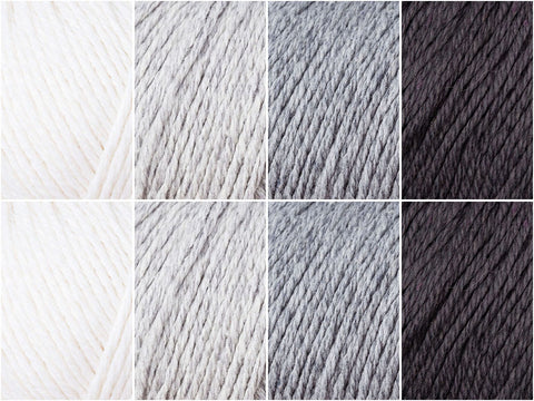 Monochrome Colour Pack in Rowan Cotton Cashmere