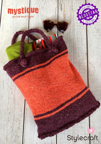 Mystique Beach Bag by Phil Saul - Free Digital Pattern