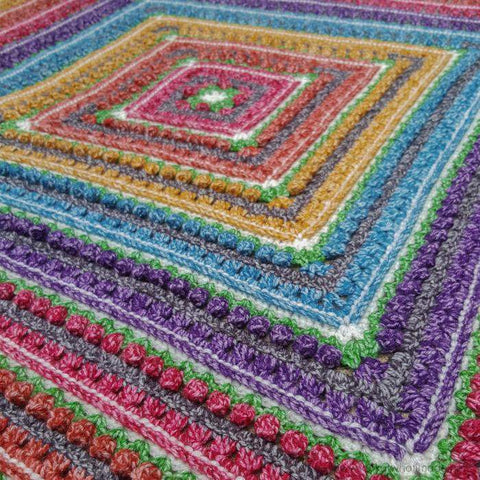 Namaqualand Blanket - Scheepjes Colour Crafter Velvet - Yarn Pack