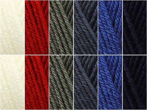 Deramores Studio DK Nautical Colour Pack (with a choice of Free Pattern)