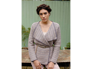 Nikau Jacket Crochet Kit and Pattern in Rowan Yarn
