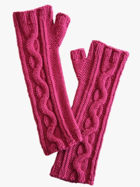 Venus Mitts in Spud & Chloe Sweater