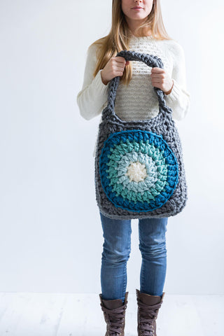 Ombre Circles Tote Bag - Stylecraft Special DK - Yarn Pack