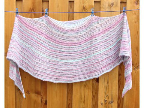Our Tribe, My Tribe Shawl Crochet Kit and Pattern in Scheepjes Yarn