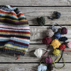 21 Colour Slouch in Blue Sky Woolstok