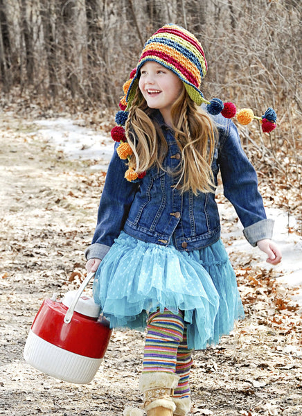 Flap Happy Hat in Spud & Chloe Sweater