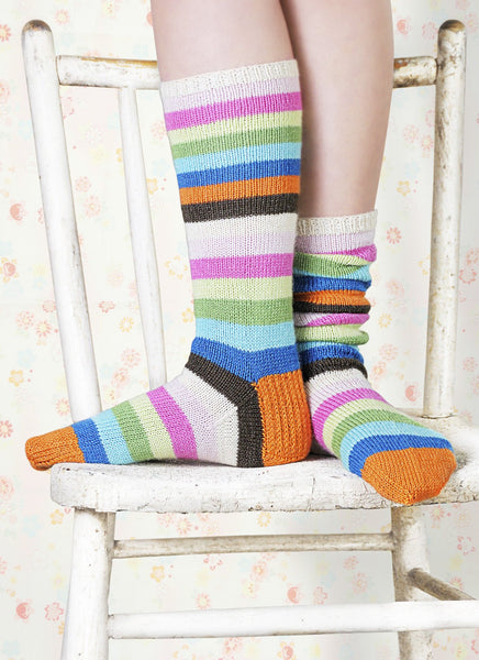 Popsicle Socks in Spud & Chloe Fine