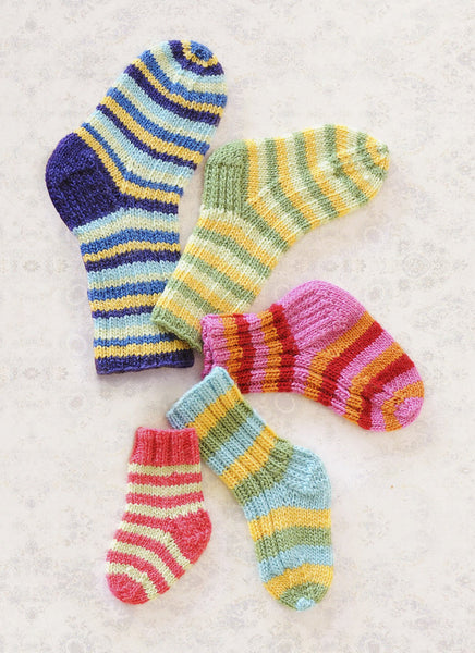 Lots o' Socks in Spud & Chloe Fine