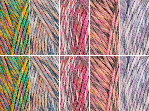 Palette Colour Pack in Stylecraft Monet Aran