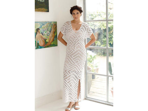 Pania Dress Crochet Kit and Pattern in Rowan Yarn